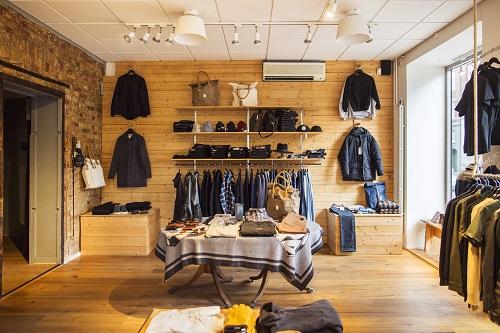 Nice une boutique de vêtements